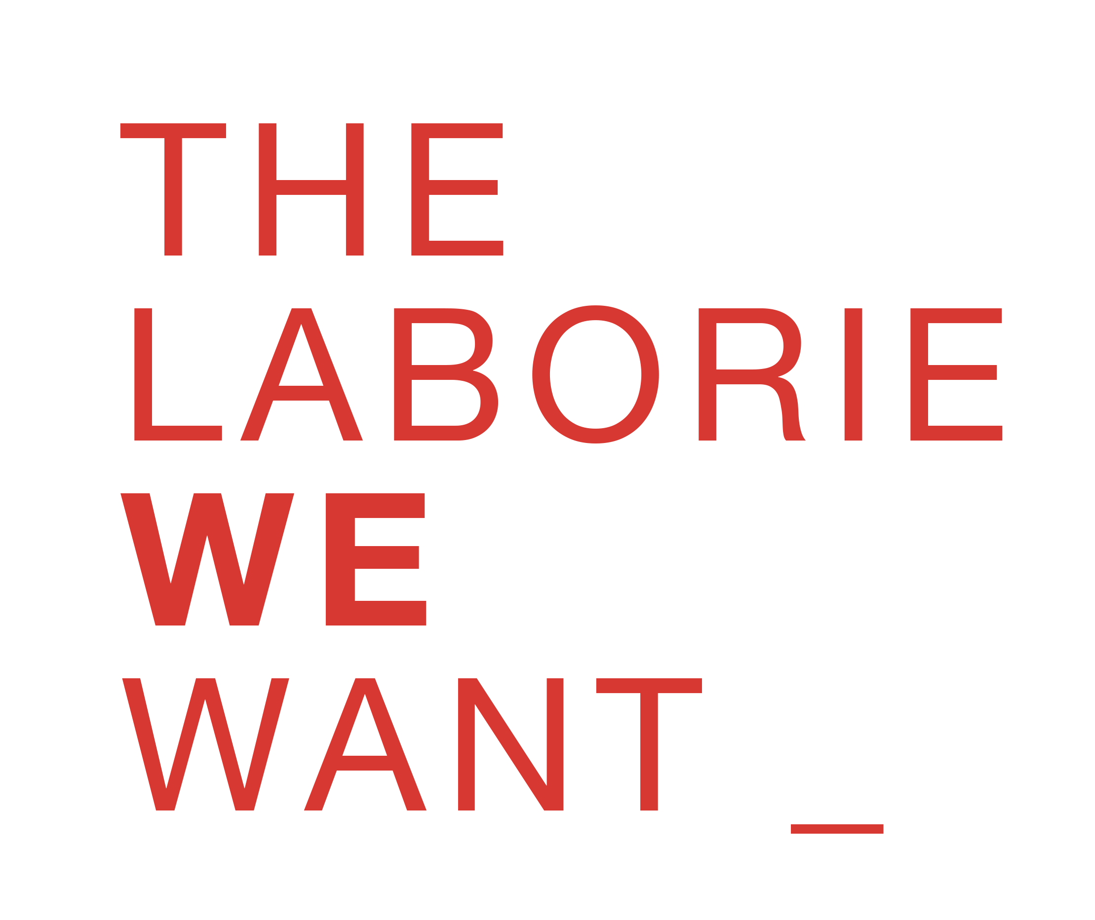 The Laborie We Want